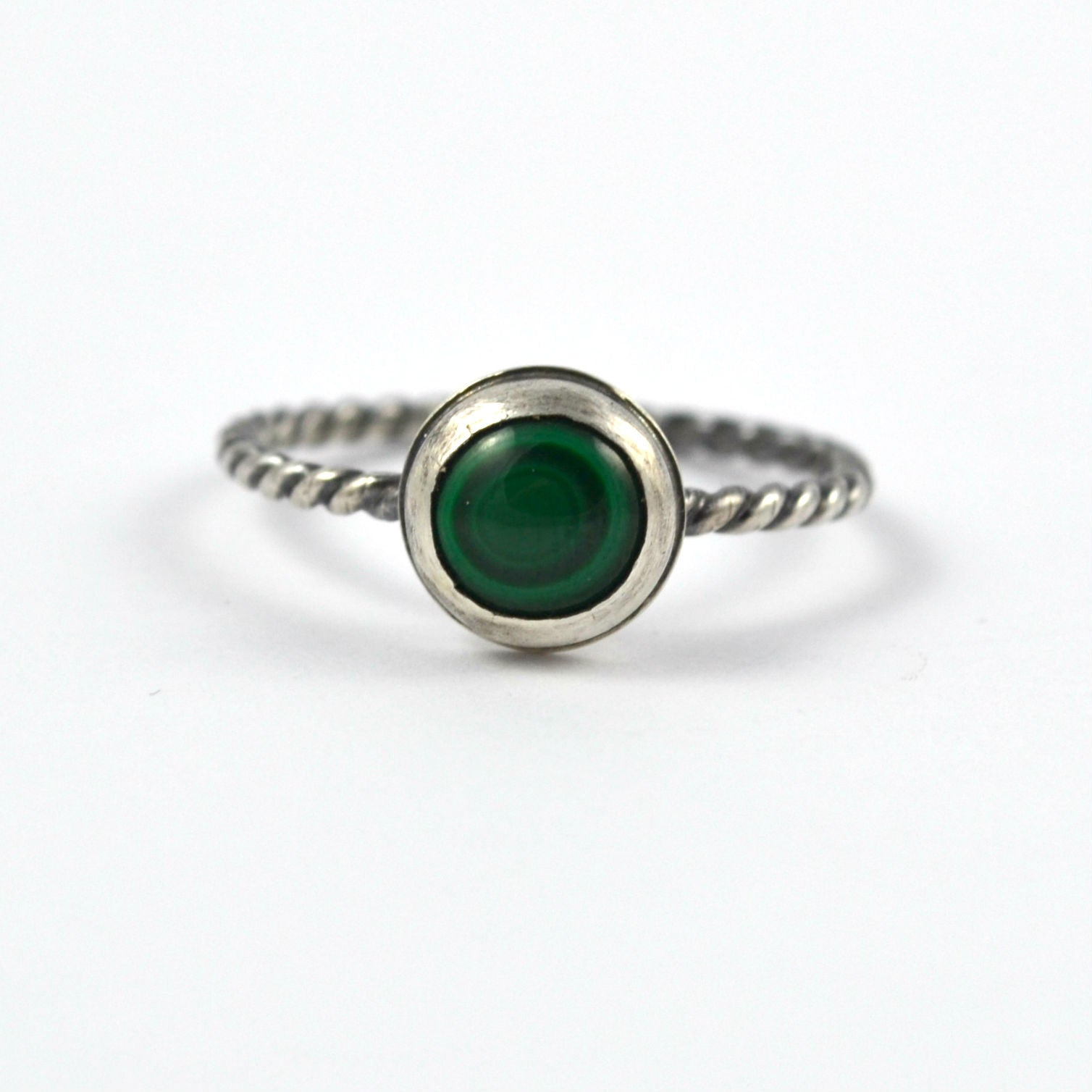 Malachite Stacking Ring - Gemspell