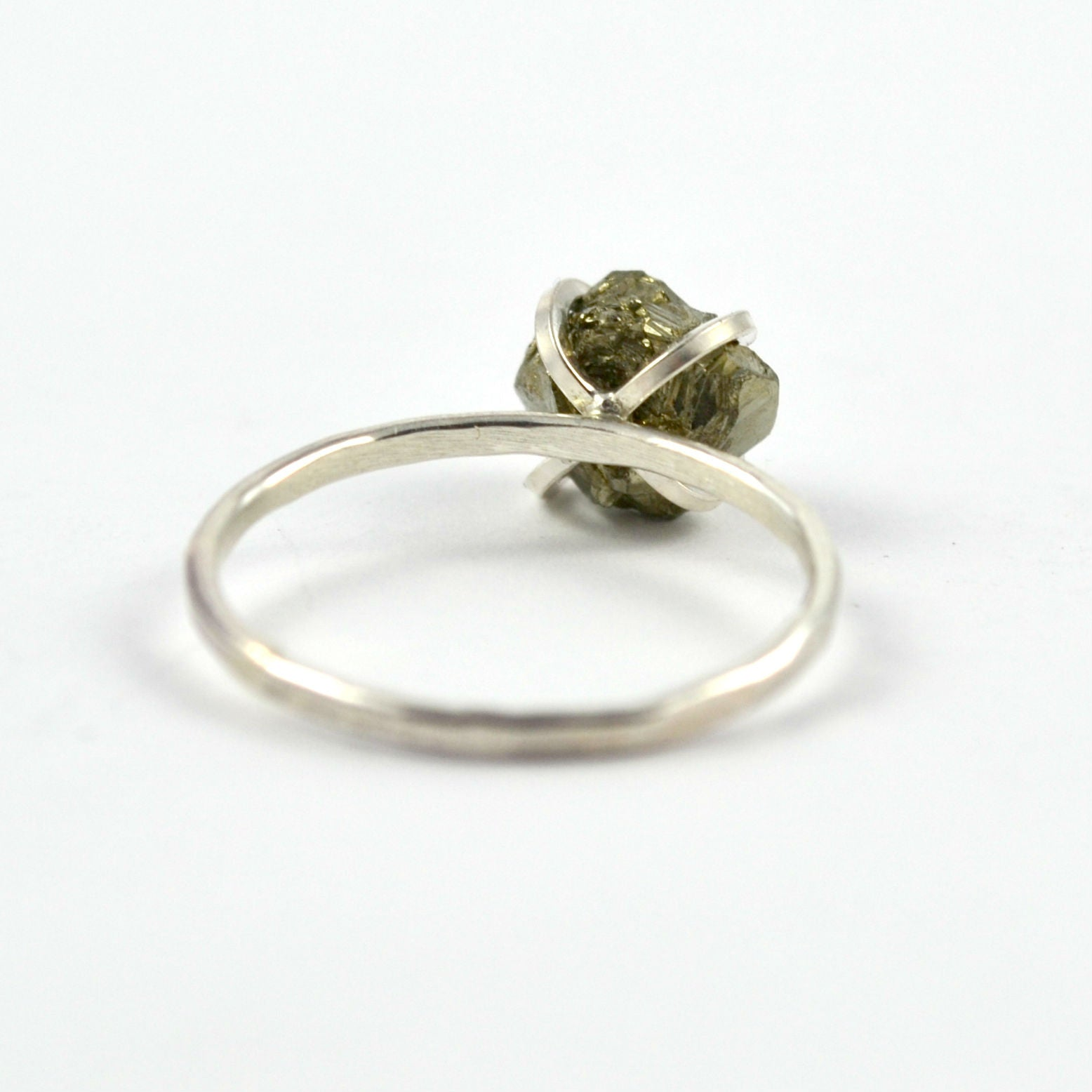 Fool's Gold Stacking Ring - Gemspell