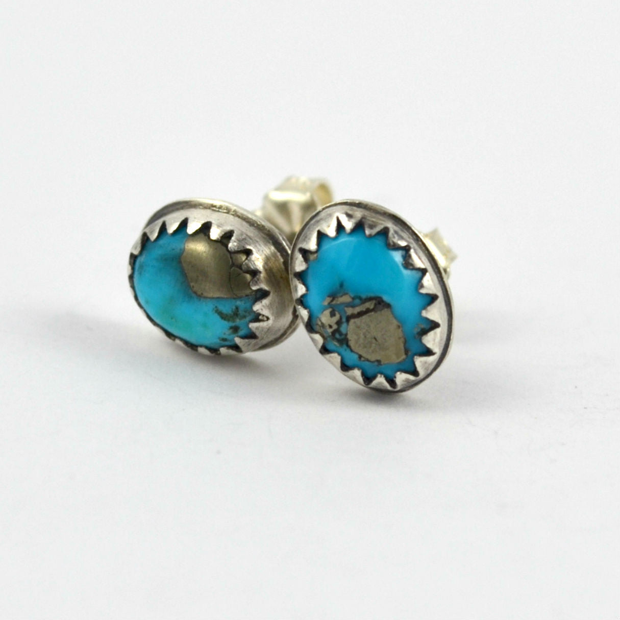 Turquoise Boho Studs No.1 - Gemspell