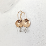 Bronze Herkimer Earrings