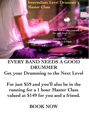 Intermediate Drum Workshop - January 2019