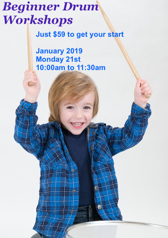 Beginner Drum Workshop - January 2019