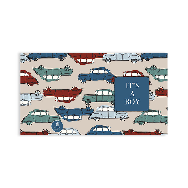 Maison Elmesa Greeting Card - Wagon
