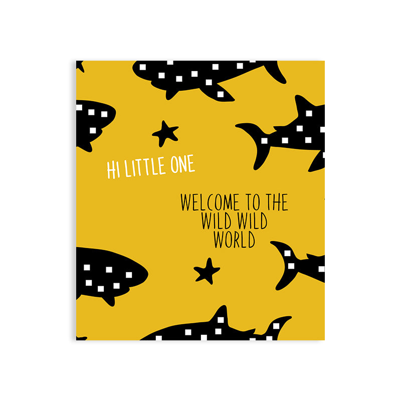 Maison Elmesa Greeting Card - Sharks