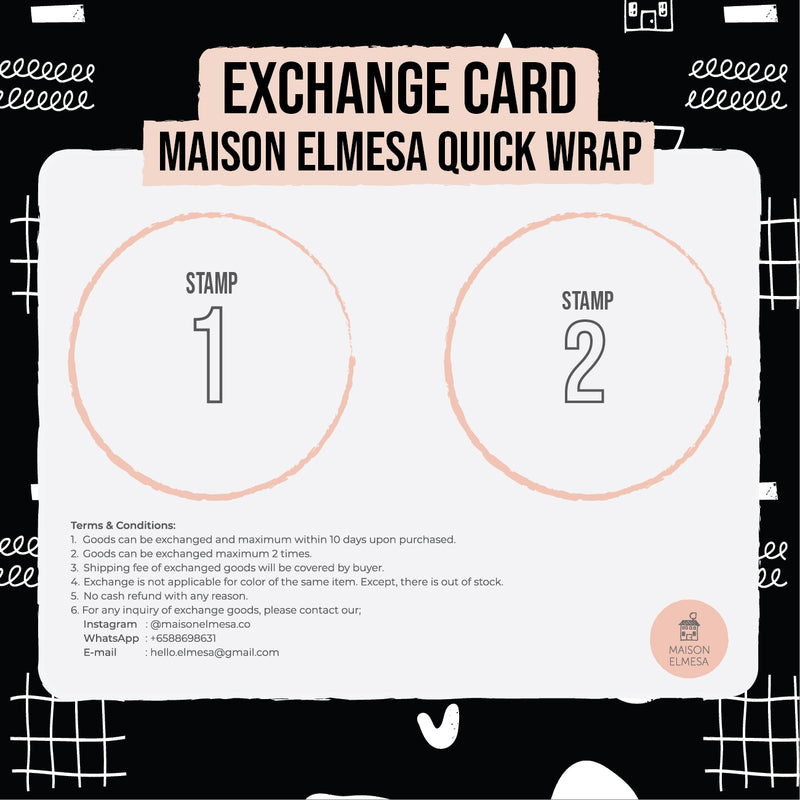 Maison Elmesa Quick Wrap - Black