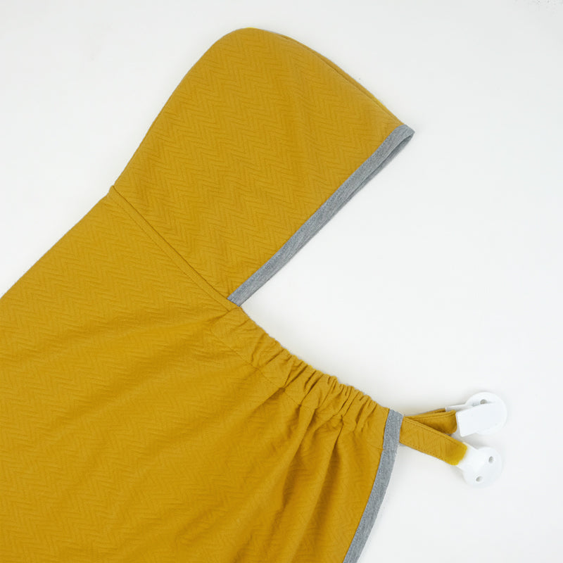Maison Elmesa Baby Blanket On The Go - Mustard Texture