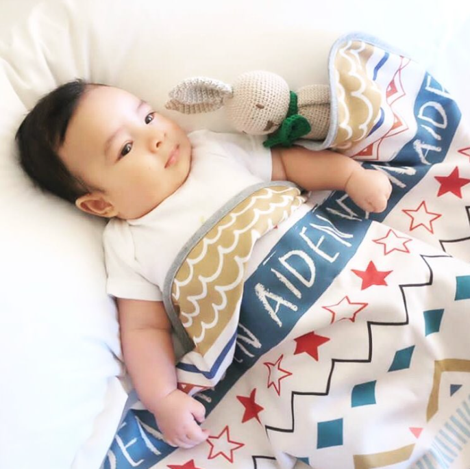 Maison Elmesa Baby Blanket -  Tribal Series
