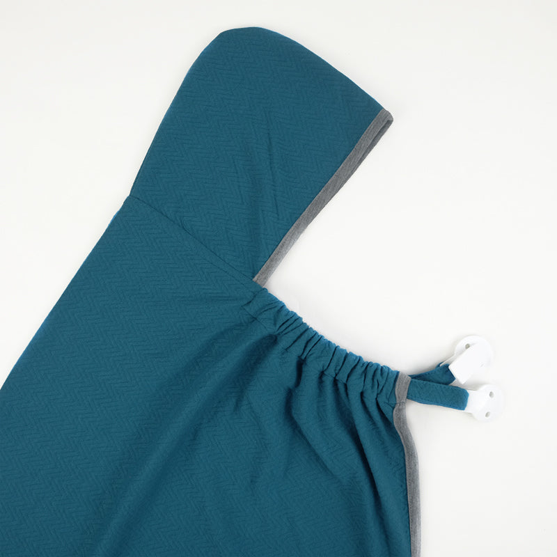 Maison Elmesa Baby Blanket On The Go - Turquoise Texture