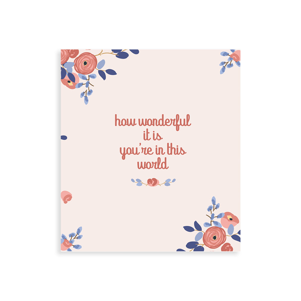Maison Elmesa Greeting Card - Bloom