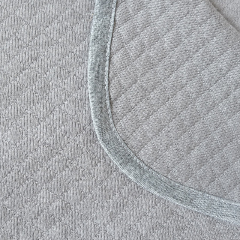 Maison Elmesa Baby Blanket On The Go - Grey Texture (Light)