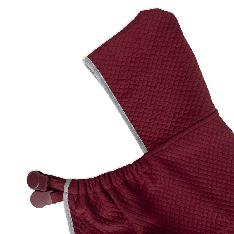 On-The-Go Blanket - Maroon Texture