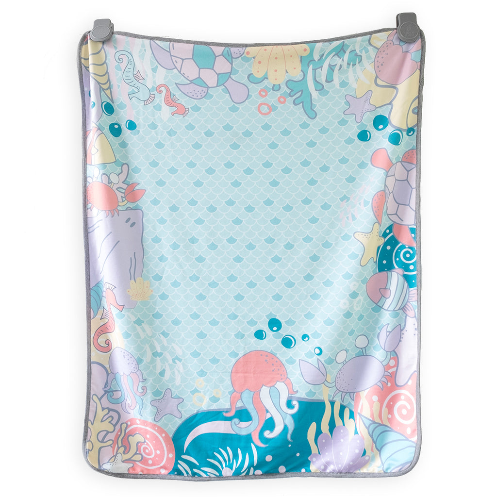 Maison Elmesa Baby Blanket - Mermaid Circle