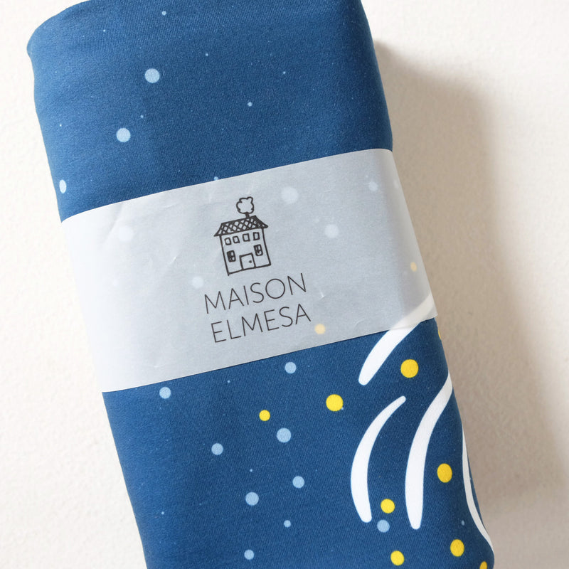 Maison Elmesa Baby Blanket - Space Circle