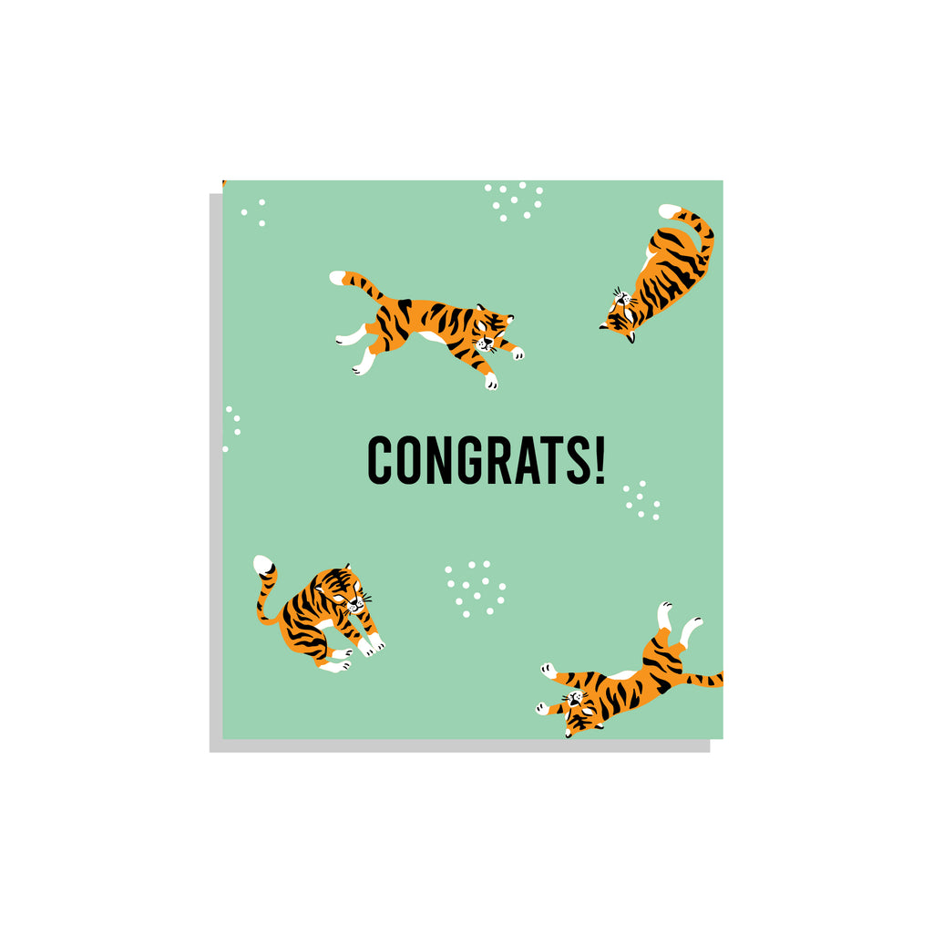 Maison Elmesa Greeting Card - Tiger