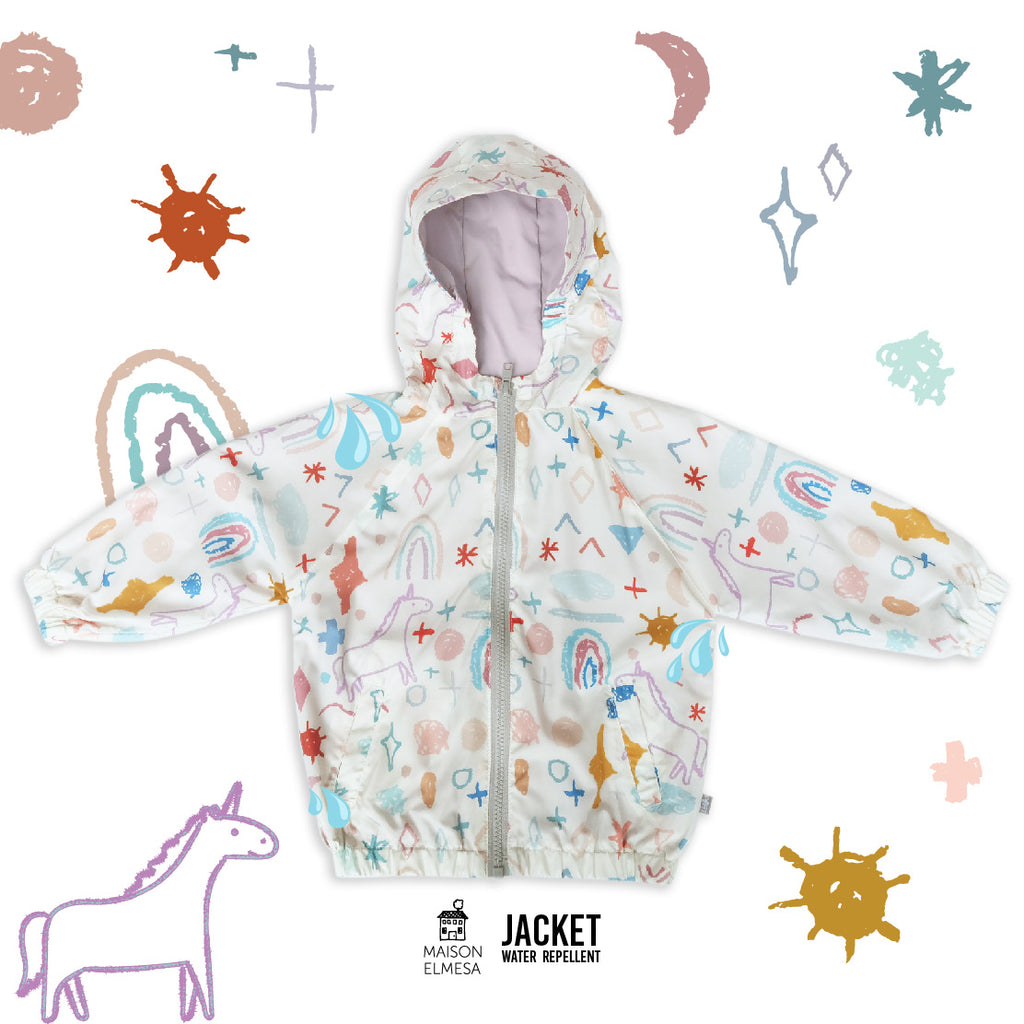 Maison Elmesa Jacket Water Repellent - Unicorn Crajon