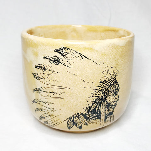 Lovely Savage Large Native American Mug