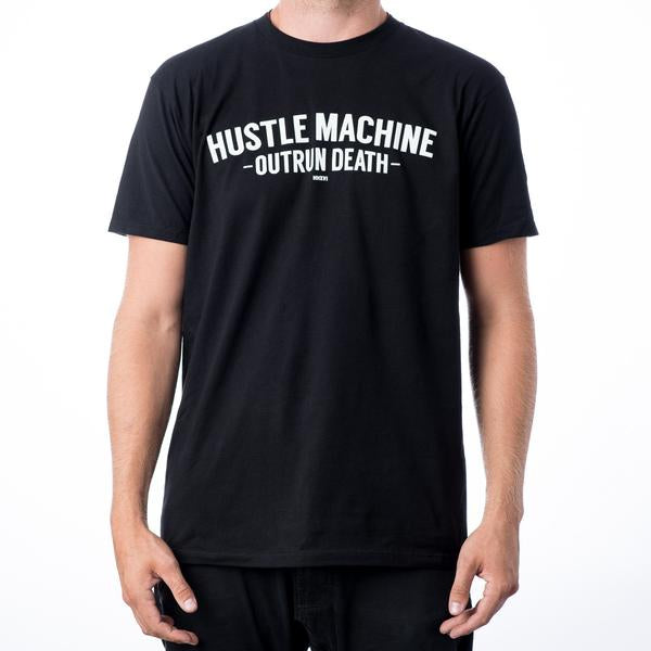 Hustle Machine Outrun Death Tee