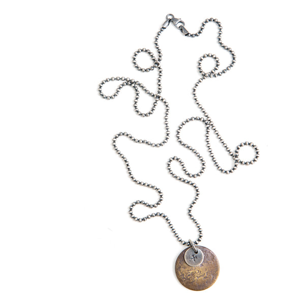Studebaker Metals Tag Necklace
