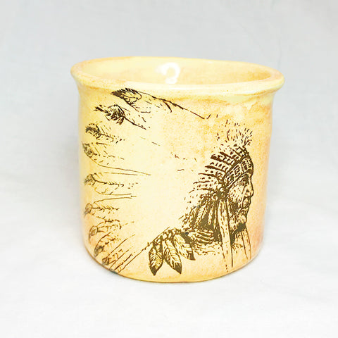 Lovely Savage Small Native American Mug