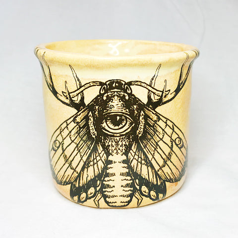 Lovely Savage Small Moth Mug