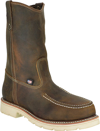 "Men's Thorogood 11"" Steel Toe Moc Toe Wellington Work Boot"