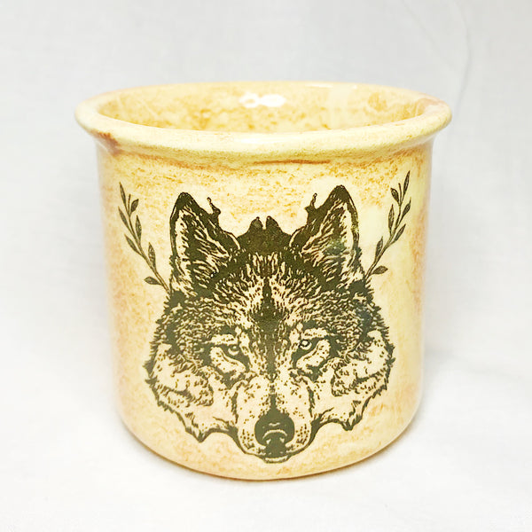 Lovely Savage Small Wolf Mug