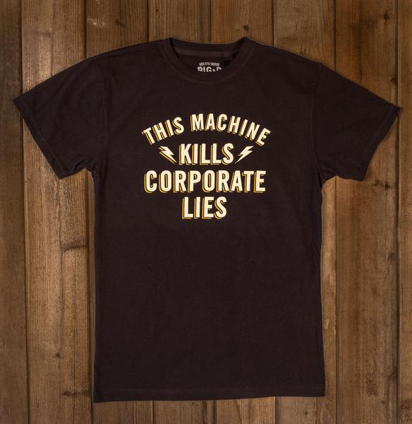 Big D Speed Shop: Corporate Lies Shirt