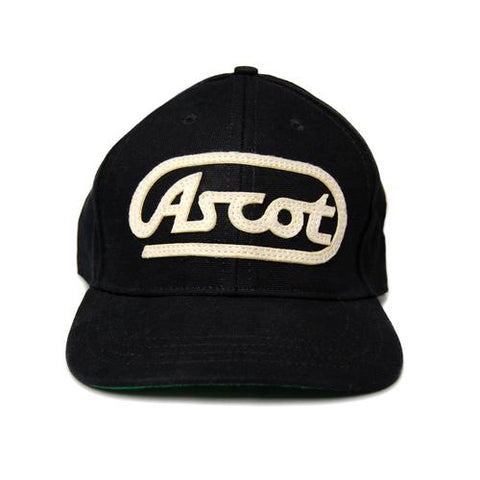 Acsot Applique Hat- Black