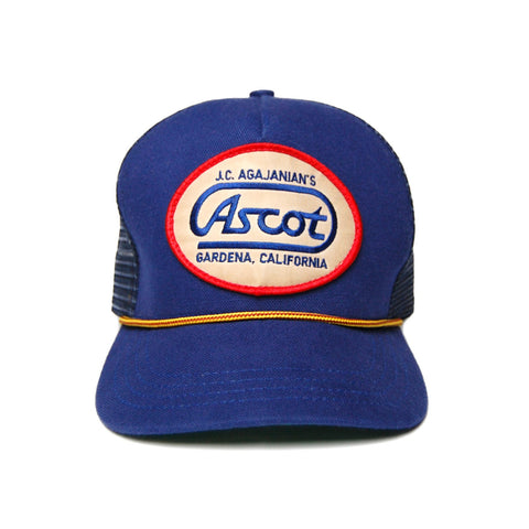 Ascot Service Trucker Hat- Royal