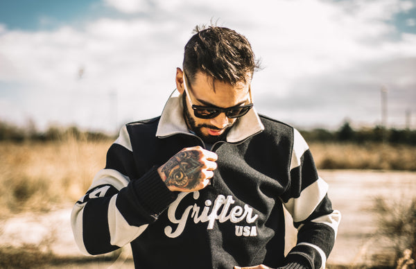 On Sale: Grifter Motorcycle Sweater by Dehen