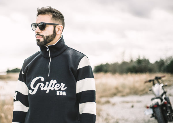 Grifter Motorcycle Sweater by Dehen
