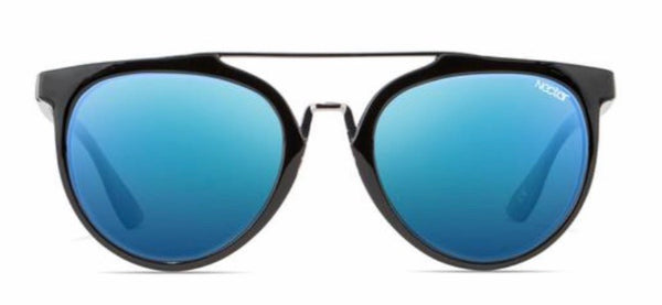 Nectar Sunglasses: Remi Black/Blue Polarized