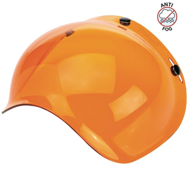 Biltwell Bubble Shield Anti Fog: Amber