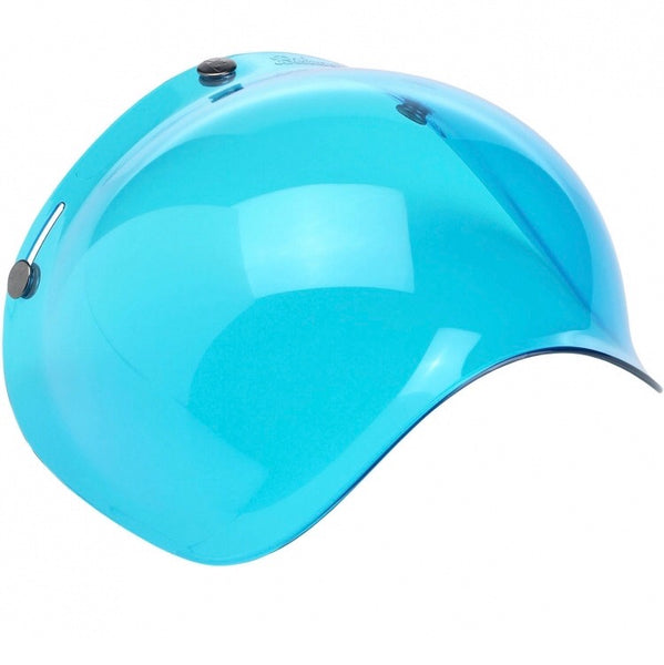 Biltwell Bubble Shield Antifog: Blue