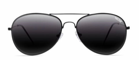 Nectar Sunglasses: Maverick Black Polarized