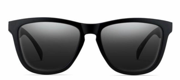 Nectar Sunglasses: Crux Black Polarized