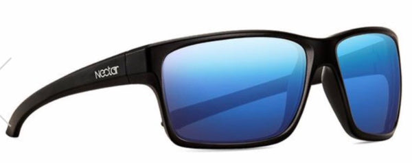 Nectar Sunglasses: Killick Black Polarized