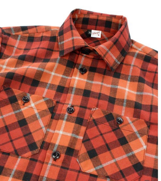 THE 21-13 SHIRT: PLAID FLANNEL SHIRT