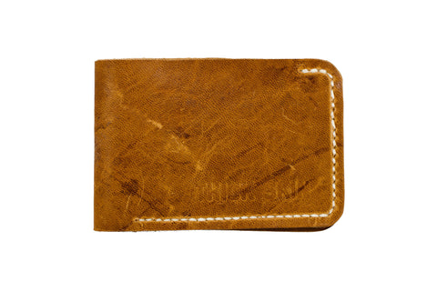 Thick Skin Leather Bi-Fold Wallets 4 colors