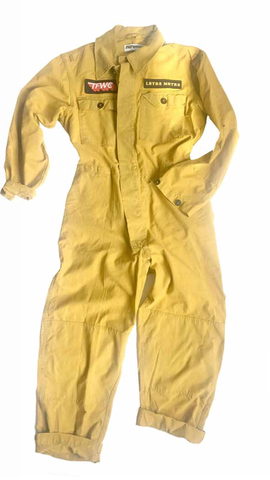 Fast Women Vintage Over Dyed Coveralls
