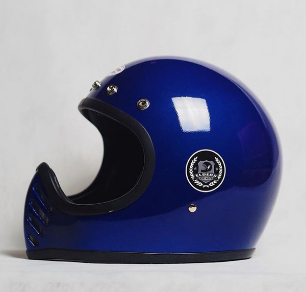 Elders Co Rocket Helmet Blue
