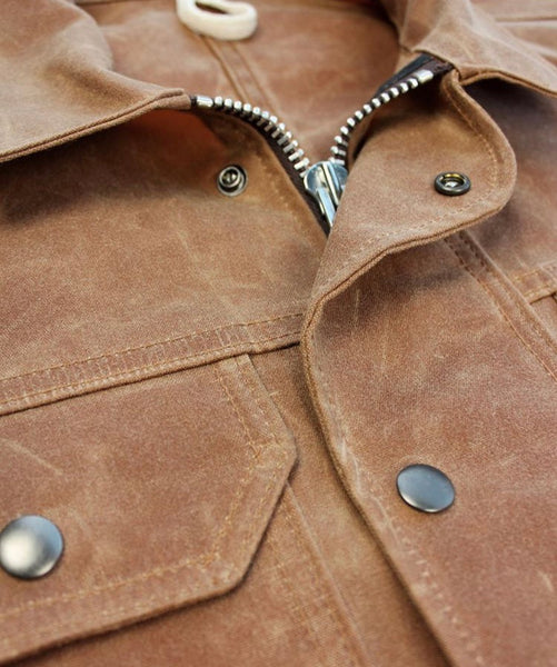 THE 30-40: HEAVY WAXED COTTON JACKET