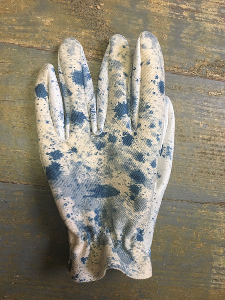Greenwich Vintage Co X Grifter Collab Indigo Acid Glove