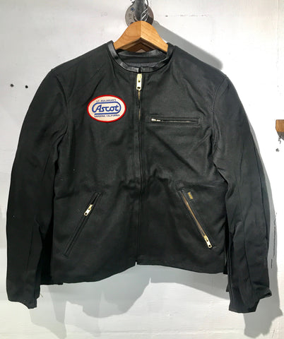 Ascot X Bates Waxed Canvas Moto Jacket