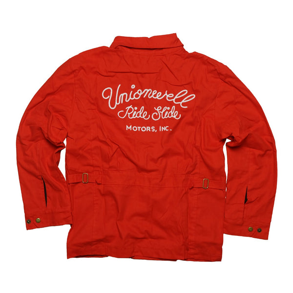 Unionwell Rios Chainstitch Jacket: Red