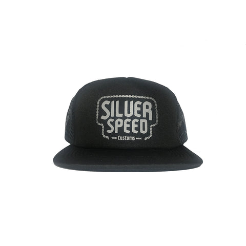 Silver Speed Trucker Hat