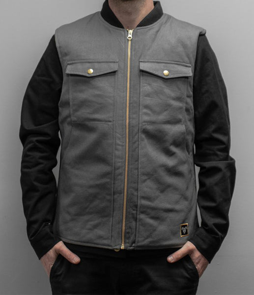 Treadwell Legendary Grey Canvas Vest