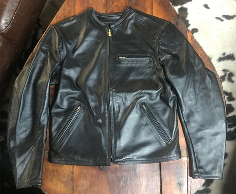 Bates/Ascot Leather Moto Jacket