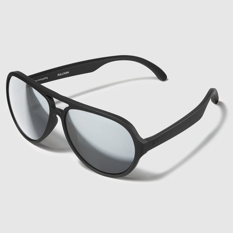Distil Union Maglock Sunglasses: Sullivan Black Polarized