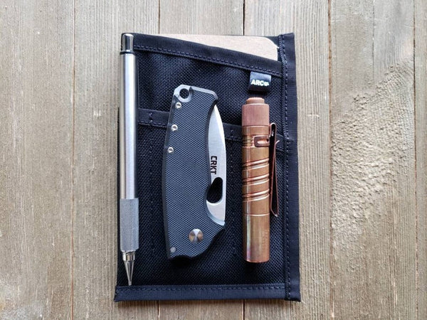 The Marksman- Notebook/Edc Slip Case by Acr Company